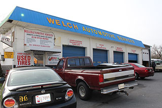 Welch Automotive Garage